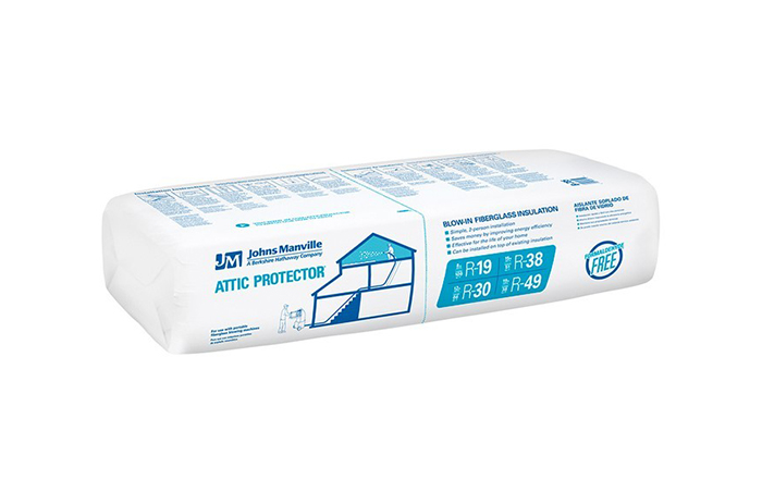 Attic Protector® blow-in fiberglass